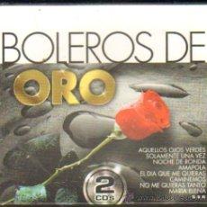 CDs de Música: BOLEROS DE ORO 2 CD'S CD-VARIOS-202. Lote 28604240