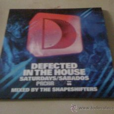 CDs de Música: 'DEFECTED IN THE HOUSE - PACHA IBIZA'. MIXED BY THE SHAPESHIFTERS. CD COMPLETO, 16 TEMAS. NUEVO.. Lote 65843963