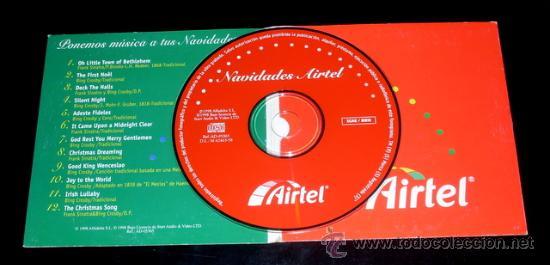 CDs de Música: NAVIDADES AIRTEL - CD MÚSICA DE NAVIDAD - FRANK SINATRA - BING CROSBY - 1998 - Foto 2 - 51364805