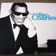 CDs de Música: 2CD RAY CHARLES: THE DEFINITIVE (THE BEST). Lote 28654187