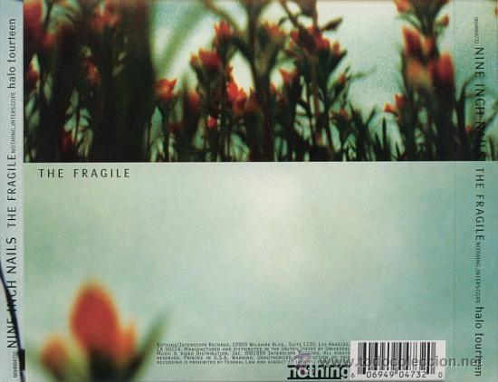 CDs de Música: NINE INCH NAILS * 2 CD * THE FRAGILE * LTD DIGIPACK * PRECINTADO!!! - Foto 2 - 107530015
