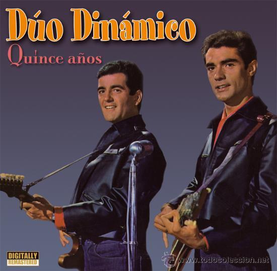DÚO DINÁMICO: QUINCE AÑOS (Música - CD's Pop)