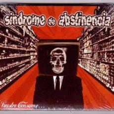 CDs de Música: SINDROME DE ABSTINENCIA - VUESTRO CONSUMO. Lote 143370462