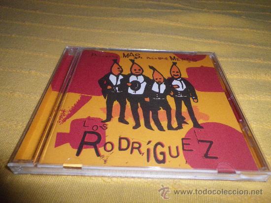LOS RODRIGUEZ PALABRAS MÁS, PALABRAS MENOS CD ALBUM AÑO 1995 ANDRES CALAMARO ARIEL ROT (Música - CD's Pop)