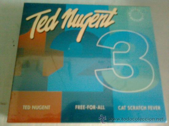 CD DE TED NUGENT.- 3 CDS. BOX.- EDICION LIMITADA-. NUEVOS- ESPECIAL COLECCIONISTAS (Música - CD's Heavy Metal)