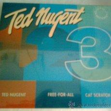 CDs de Música: CD DE TED NUGENT.- 3 CDS. BOX.- EDICION LIMITADA-. NUEVOS- ESPECIAL COLECCIONISTAS. Lote 28976853