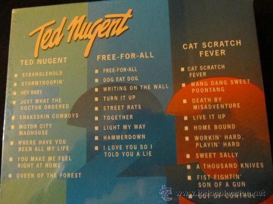 CDs de Música: CD DE TED NUGENT.- 3 CDS. BOX.- EDICION LIMITADA-. NUEVOS- ESPECIAL COLECCIONISTAS - Foto 2 - 28976853