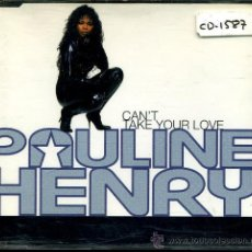 CDs de Música: PAULINE HENRY - CAN'T TAKE YOUR LOVE (3 VERSIONES) / WATCH THE MIRACLE START - CD SINGLE 1993. Lote 28998299