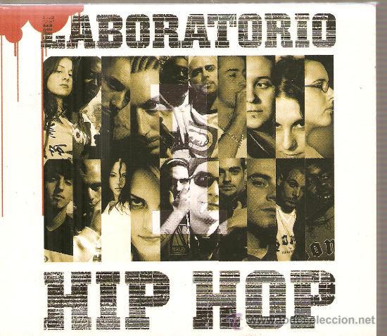 CD LABORATORIO HIP HOP : MALA RODRIGUEZ, SANTAFLOW, MEFE, VERDAEROS KREYENTES, ZENIT, ALMA CHULA,ETC (Música - CD's Hip hop)