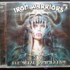 CDs de Música: IRON WARRIORS - HELLOWEEN, STRATOVARIUS, NOSTRADAMEUS... DOBLE CD, 2 CD'S - NUEVO, AÚN PRECINTADO. Lote 29112432