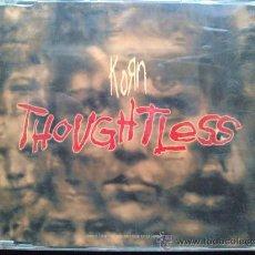 CDs de Música: KORN, THOUGHTLESS - MAXI CD. Lote 29112623