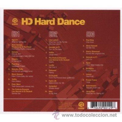 CDs de Música: ESSENTIAL HARD DANCE * 3 CD * TEMAZOS THECNO HARD-DANCE * LTD PRECINTADO!! - Foto 2 - 29121199