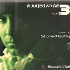 CDs de Música: CD RXXISTANCE VOL 3 - MIXED BY STONED BABY - ESSENTIAL . Lote 29152741