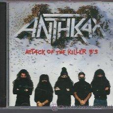 CDs de Música: ANTHRAX - ATTACK OF THE KILLER B'S (1991) - CD ISLAND NUEVO. Lote 29158370