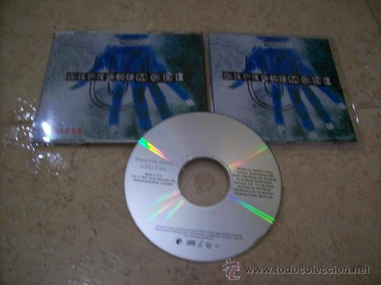 CD SINGLE DEPECHE MODE - USELESS - 3 CANCIONES + VIDEO (Música - CD's Techno)