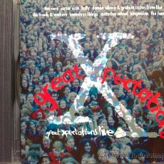 CDs de Música: GREAT XPECTATIONS LIVE - THE CURE, CARTER USM, BELLY, DAMON ALBARN & GRAHAM COXON FROM BLUR, ETC. CD. Lote 29231474