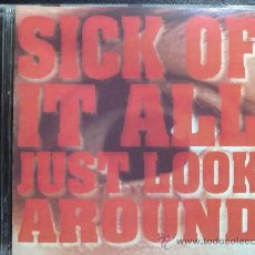 CDs de Música: SICK OF IT ALL, JUST LOOK AROUND. CD. Lote 29254344