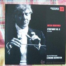 CDs de Música: ANTON BRUCKNER SYMPHONY NO. 9 LEONARD BERNSTEIN. Lote 29171193