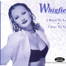 CDs de Música: WHIGFIELD - I WANT TO LOVE / CLOSE TO YOU ( CD SINGLE ). Lote 29312539