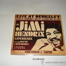 CDs de Música: THE JIMI HENDRIX EXPERIENCE / LIVE AT BERKELEY 30/5/1970 2ND SHOW - CD ORIGINAL DIGIPACK - PERFECTO. Lote 29317014