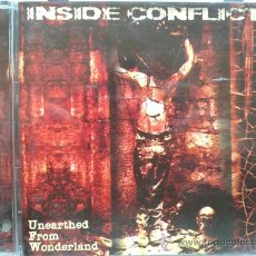 CDs de Música: INSIDE CONFLICT - UNEARTHED FROM WONDERLAND. Lote 29334912