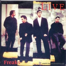 CDs de Música: LIVE - FREAKS ( CD SINGLE ). Lote 29336591