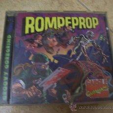 CDs de Música: CD ROMPEPROP - GARGLE CUMMICS - GROOVY GOREGRIND - BIZARRE LEPROUS 2010 FIRMADO X DR. DENTE Y BONES. Lote 29338212