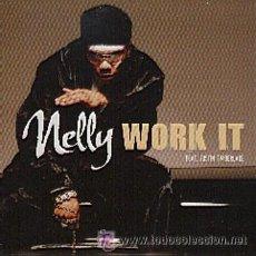 CDs de Música: NELLY - WORK IT ( CD SINGLE ). Lote 29346792