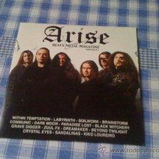 CDs de Música: ARISE HEAVY METAL MAGAZINE SAMPLER VOLUMEN Nº 4 CD: WITHIN TEMPTATION LABYRINTH SOILWORK BRAINSTORM. Lote 29380077