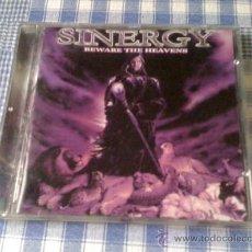CDs de Música: SINERGY - 1999 - BEWARE THE HEAVENS - CD ÁLBUM HEAVY POWER METAL. Lote 29831614