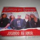 CDs de Música: ANGELES DEL INFIERNO JUGANDO AL AMOR CD SINGLE PORTADA DE PLASTICO HEAVY ESPAÑOL AÑO 1993. Lote 168362201