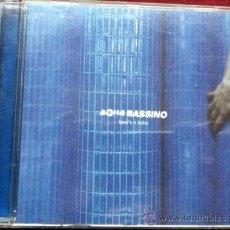 CDs de Música: AQUA BASSINO - BEAT BOBS . CD 2001. Lote 29395327