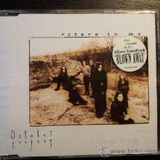 CDs de Música: OCTOBER PROJECT - RETURN TO ME - CD SINGLE - 3 TRACKS - EPIC - 1994. Lote 29408888