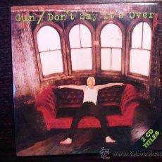 CDs de Música: GUN - DON´T SAY IT´S OVER - CD SINGLE - 2 TRACKS - A&M - 1992. Lote 29409550