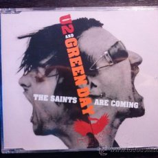 CDs de Música: U2 AND GREEN DAY - THE SAINTS ARE COMING - CD SINGLE - UNIVERSAL - 2006. Lote 87335432