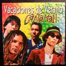 CDs de Música: CAÑAMAN - VACACIONES DE VERANO - CD SINGLE - PROMO - PEP´S - 2001. Lote 29429452