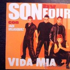 CDs de Música: SON BY FOUR - CON JACI VELASQUEZ - CD SINGLE - PROMO - 2 TRACKS - EPIC - 2001. Lote 29429522