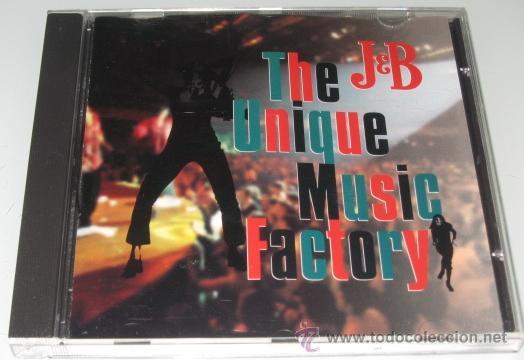 THE UNIQUE MUSIC FACTORY - CD - ICE MC / DUKE BAYSEE / TONY WILSON - PROMO J & B - COMO NUEVO (Música - CD's Disco y Dance)