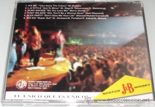 CDs de Música: THE UNIQUE MUSIC FACTORY - CD - ICE MC / DUKE BAYSEE / TONY WILSON - PROMO J & B - COMO NUEVO - Foto 2 - 29425705