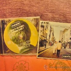 CDs de Música: OASIS - ( WHAT 'S THE STORY ) MORNING GLORY ? CD. Lote 29443275