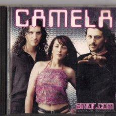 CDs de Música: CAMELA - AMOR.COM - 2001 - FORMATO: CD - EXCELENTE ESTADO. Lote 29470180