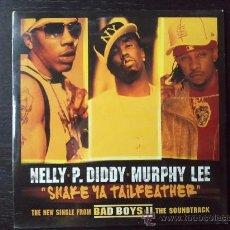 CDs de Música: NELLY - P. DIDDY - MURPHY LEE - SHAKE YA TAILFEATHER - CD SINGLE - PROMO BAD BOYS 2 - 2 TRACKS -2003. Lote 29927085