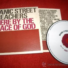CDs de Música: MANIAC STREET PREACHERS THERE BY THE GRACE OF GOD CD SINGLE 2002 PROMO. Lote 29530122
