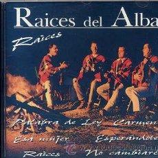 CDs de Música: RAICES DEL ALBA / RAICES (CD 1998). Lote 254397195