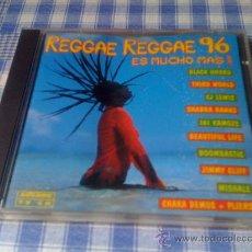 CDs de Música: V.V.A.A - 1996 - REGGAE REGGAE 96 - CD ÁLBUM RECOPILATORIO. Lote 29677808