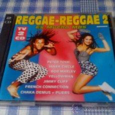 CDs de Música: V.V.A.A - 1994 - REGGAE-REGGAE 2 - 2 CD ÁLBUM RECOPILATORIO. Lote 29677809