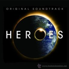 CDs de Música: HEROES * CD * OST * BANDA SONORA ORIGINAL DE LA SERIE TV * DISCO PRECINTADO!!!. Lote 36146946