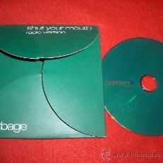 CDs de Música: GARBAGE SHUT YOUR MOUTH CD SINGLE 2001 PROMO. Lote 29670562