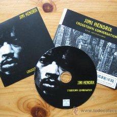 CDs de Música: JIMI HENDRIX - CROSSTOWN CONVERSATION - CD BAKTABAK RECORDS 1994 (PICTURE CD INTERVIEW) BPY. Lote 26766873