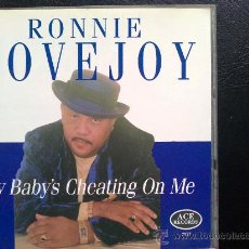 CDs de Música: RONNIE LOVEJOY - MY BABY'S CHEATING ON ME - CD. Lote 29704370